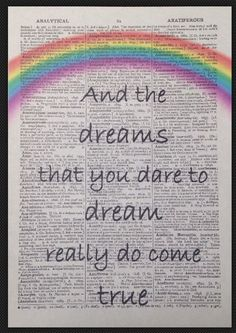 Somewhere Over The Rainbow Vintage Dictionary Page Print Wizard Of Oz Wall Art Wizard Of Oz Decor, Wizard Of Oz Quotes, Rainbow Quote, Rainbow Art, Dorthy Wizard Of Oz, Wizard Of Oz Tattoos, Rainbow Tattoos, Land Of Oz, School Themes