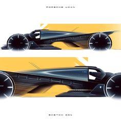 PORSCHE UCAN by .-⬇comment below⬇ . -➡post your sketches and use the hashtag . Car Design Sketch, Car Sketch, Futuristic Cars, Porsche Design, Car Wheels, Transportation Design, Mobile Design, Automotive Design, Custom Cars