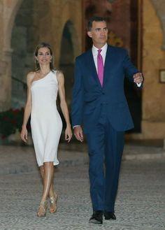 Recepción en Mallorca palacio de la Almudaina