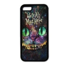 Danielcase-Cheshire cat & Alice's Adventure in Wonderland TPU case for iPhone 6-Personalized Case Cover-6 Colors Available