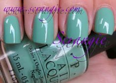 OPI: Pirates Of The Caribbean On Stranger Tides Collection Spring/Summer 2011 - Mermaid's Tears