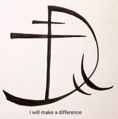 """""""I will make a difference"""" sigil requested by anonymous"""