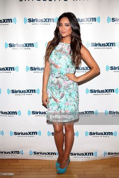 Shay Mitchell visits at SIRIUS XM Studio on June 4, 2012 in New York City.