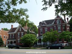 Madison, Indiana: such historic beautiful houses