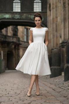 Civil Wedding Dresses, Wedding Dress Sleeves, Boho Wedding Dress, Boho Dress, Wedding Gowns, Courthouse Wedding Dress, Ivory Wedding, Mermaid Wedding, Dress Beach