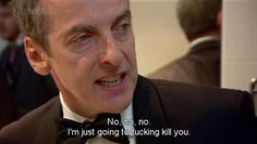 Things I learned from Malcolm Tucker and The Thick of It, #27: a threat isn't a threat without the F word. Or the MF word. Even the C word thrown in for good measure.