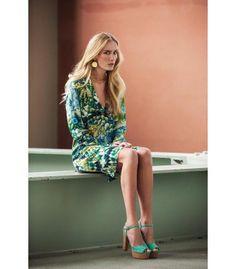 Katrin Uri kjole Sea Garden Silk Dress