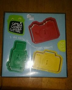 DIYP Camera Cookie Cutters Fun Shapes NEW IN PACKAGE
