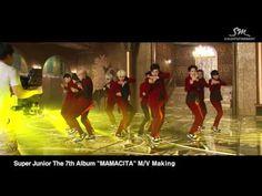 Super Junior The 7th Album 'MAMACITA' Music Video Event!! - MV Making Film