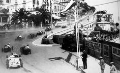 The first Monaco Grand Prix in 1929.