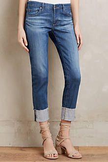 AG Stevie High-Cuff Jeans