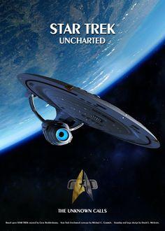 Star Trek Uncharted poster by thefirstfleet