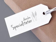 Logo design for Danske Specialiteter Place Cards, Logo Design, Place Card Holders, Smile, Logos, Logo, Laughing