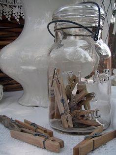 Pins in a Mason Jar