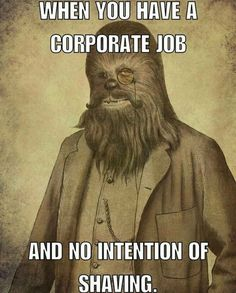 When You Have A Corporate Job And No Intention Of Shaving From beardoholic.com