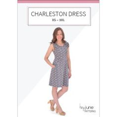 Charleston dress - really convinced after seeing pattern testers http://www.heyjunehandmade.com/charleston-dress-testers/  very flattering on everyone