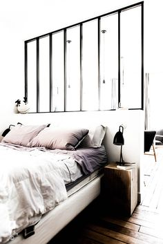 ROYAL ROULOTTE PARIS -★- APPARTMENT RENOVATION / HOME DECOR / WHITE BEDROOM