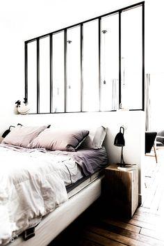 ROYAL ROULOTTE PARIS -★- APPARTMENT RENOVATION / HOME DECOR / WHITE BEDROOM