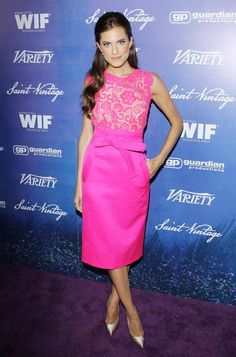 Allison Williams in Spring 2013 at the Variety and Women in Film Pre-Emmy event