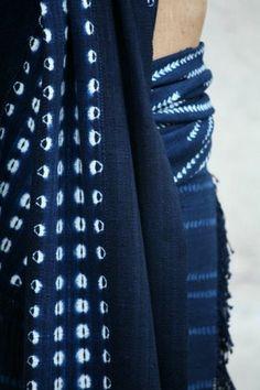 Aboubakar Fofana - fabulous indigo dyed textiles