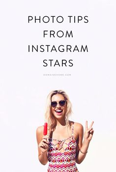 Take notes if you want to up your Instagram game!