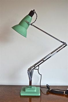 Memphis Study Lamp - Yellow Limelight - Table Lamps - Table Lamps ...