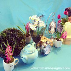 #aliceinwonderland #madhatter #teaparty #babyshower #eventdecor #eventdesign #limanidesigns
