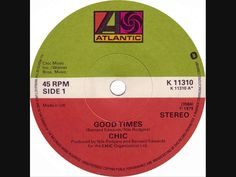 """Chic - Good Times (Dj """"S"""" Bootleg Extended Dance Re-Mix)"""