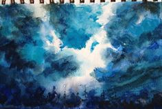 Storm Coming Watercolor Painting Tutorial by Jennifer Branch.