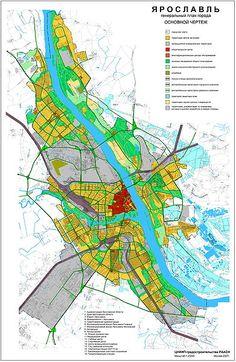General Plan of Yaroslavl 2008