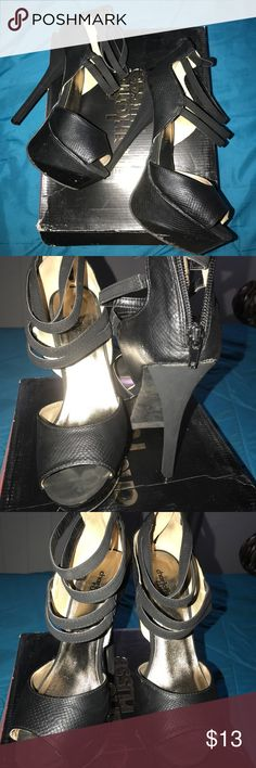Black pumps Used twice in good condition Charlotte Russe Shoes Heels
