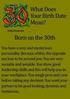 Find Out What Your Birth Date Reveals About You??? Thanks for having a look. If you have any questions , please don't hesitate to ask. Thank you for following me. Followers are always appreciated. My friend limit is maxed out. But still keep sending the request and I'll follow you. Have a happy and healthy day.