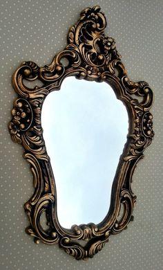espelho veneziano em ouro velho                                                                                                                                                                                 Mais