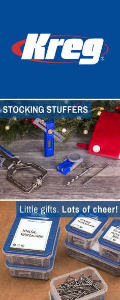 Stuff their stockings with NEW Kreg Tools!