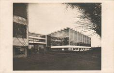 Lucia Moholy - Bauhaus, Dessau.