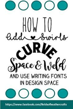 Fields Of Heather: Using Text In Design Space #cricut #fonts #designspace