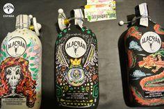 Botellas realizadas por Alejandro Sotos