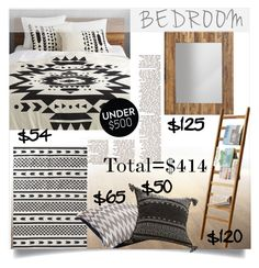 """""""Under$500 Bedroom Upgrade"""" by clotheshawg ❤ liked on Polyvore featuring interior, interiors, interior design, home, home decor, interior decorating, CB2, bedroom and bedroomunder500"""