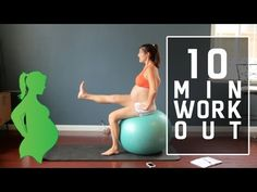 Pregnancy Workout - Fitmomma Challenge 09 - YouTube