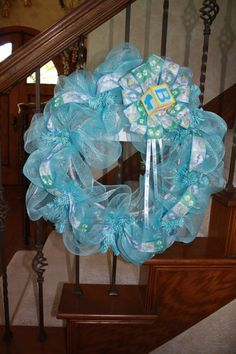 1000 images about birth wreaths on pinterest baby for Baby shower door decoration