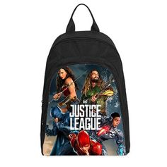 CASUAL BACKPACK BAG FOR LAPTOP JUSTICE LEAGUE #DSF #Backpack