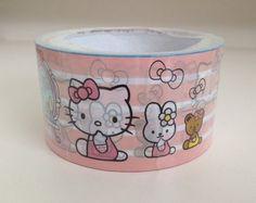 Large Adhesive PVC Decotape | Hello Kitty