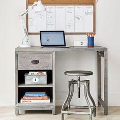 Rowan 1-Drawer Single Pedestal Desk https://www.pbteen.com/products/rowan-1-drawer-single-pedestal-desk/?pkey=ccomputer-desks-for-teens%7Cview-all-desks-study&isx=0.0