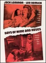 """Days of Wine and Roses - Jack Lemmon and Lee Remick give harrowing and believable performances in this tale of slow and deliberate descent into alcoholism and co-dependency. Blake Edwards applies no gloss or """"Hollywood style"""" to this excellent drama. Old Movies, Vintage Movies, Great Movies, 2016 Movies, Awesome Movies, Jack Lemmon, Martin Scorsese, Alfred Hitchcock, Movies"""
