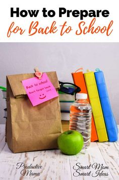 How to prepare for back to school | easy ways to prepare for back to school | back to school prep