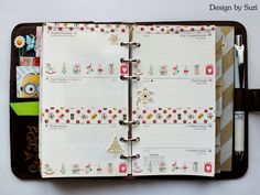 The week nr.50 - Christmas are around the corner #planner