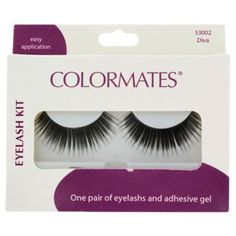 Open up your eyes and brighten your face with easy-to-apply false eyelashes! Premium lashes feature a unique applicator for perfect application every time. Plus, they're safe for contact lens wearer. Dollar Tree Store, Dollar Stores, Applying False Eyelashes, Stocking Stuffers, Adhesive, Beauty Makeup, Diva, Saints