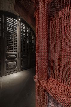 Restaurant Lounge, Restaurant Concept, School Architecture, Amazing Architecture, Dream Bars, Wine House, Industrial Architecture, Architrave, Metal Mesh