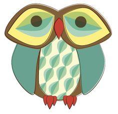 D294_Retro_Owl