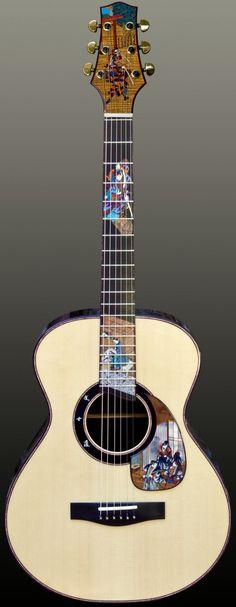 Voyage-Air Guitars (but $125000! for a travel guitar? Im not sure) --- https://www.pinterest.com/lardyfatboy/